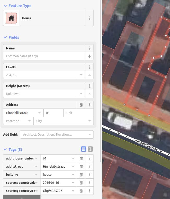 Nr 61 in OpenStreetMap